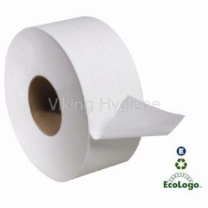 75009506 Green Source Jumbo Toilet Roll Paper – 12 Big Rolls in Case
