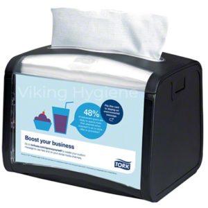 6232000 Tork Xpressnap Signature Tabletop Dispenser Black