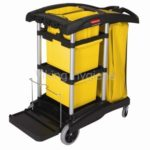 High Capacity Rubbermaid Janitor Cart – 9T73