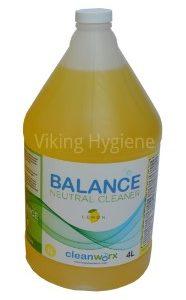 0140015 – Balance Neutral Cleaner Lemon 4l Cleanworx