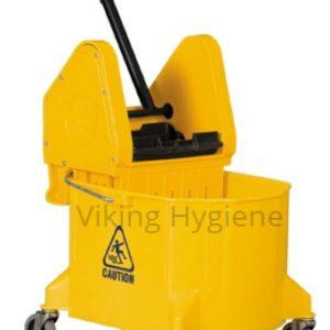 Bucktet Wringer Combo 26-32 Qrt Down Press Yellow – 4750010