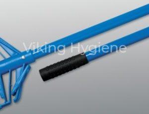 Mop Handle – 54″ Fibreglass Snap-N-Go Blue