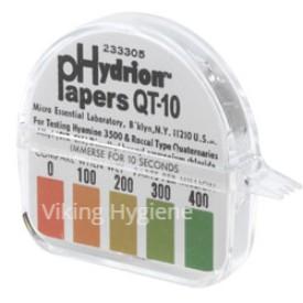 0120091 – Test Strips Quat Qt 10 Quaternary Ammonium 100 In Roll Ppm Range Test
